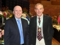 President of MHS and Guest of honour